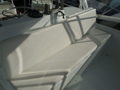 Boat upholstery services in Boca Raton