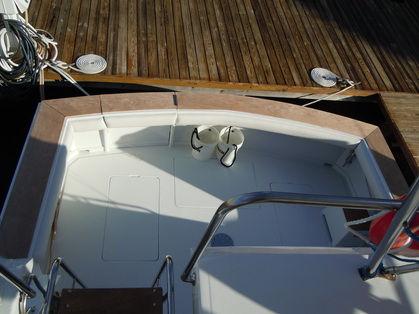 Cockpit Bolsters on boat